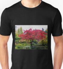 Butchart Gardens in the Fall T-Shirt