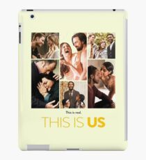 This Is Us This Is Real iPad Case/Skin