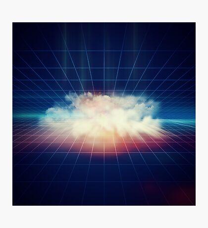 Disco Cloud Photographic Print
