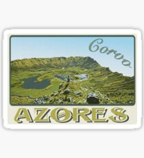 Azores Acores islands Portugal Sticker