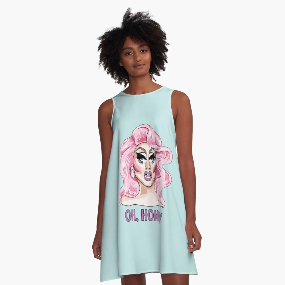 Trixie Mattel A-Linien Kleid