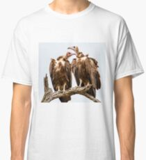 Vulture Couple Watching Out for a Meal - Krüger National Park Classic T-Shirt