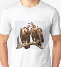 Vulture Couple Watching Out for a Meal - Krüger National Park Unisex T-Shirt