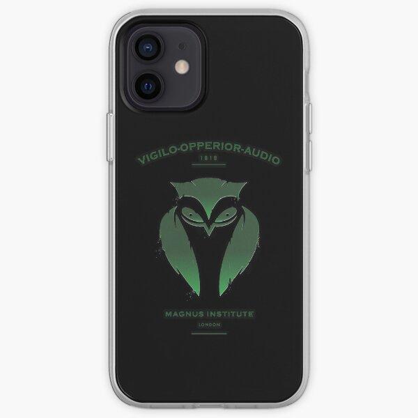 Vigilo Operior Audio iPhone Soft Case