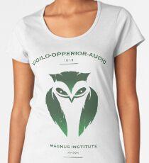 Vigilo Operior Audio Women's Premium T-Shirt