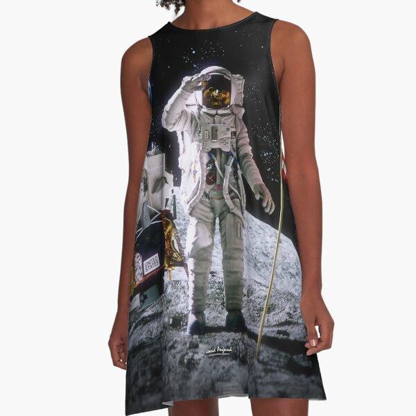 Moon Landing A-Line Dress