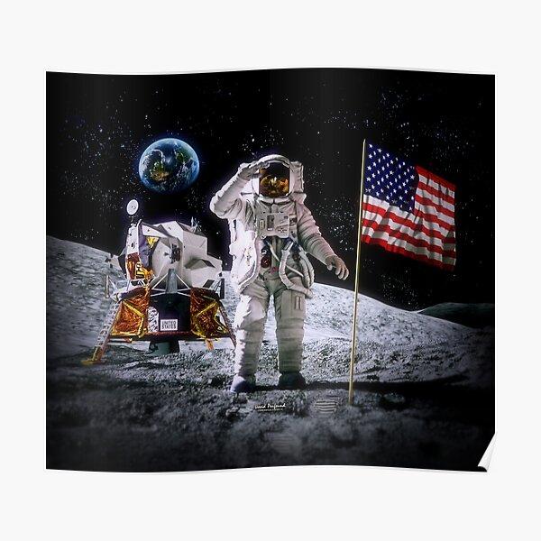 Moon Landing Poster