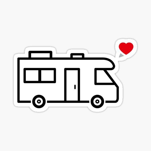 Camper/RV Love Sticker
