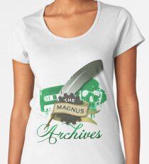 The Magnus Archives Logo Women's Premium T-Shirt