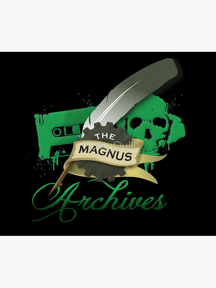 El logotipo de Magnus Archives de RustyQuill