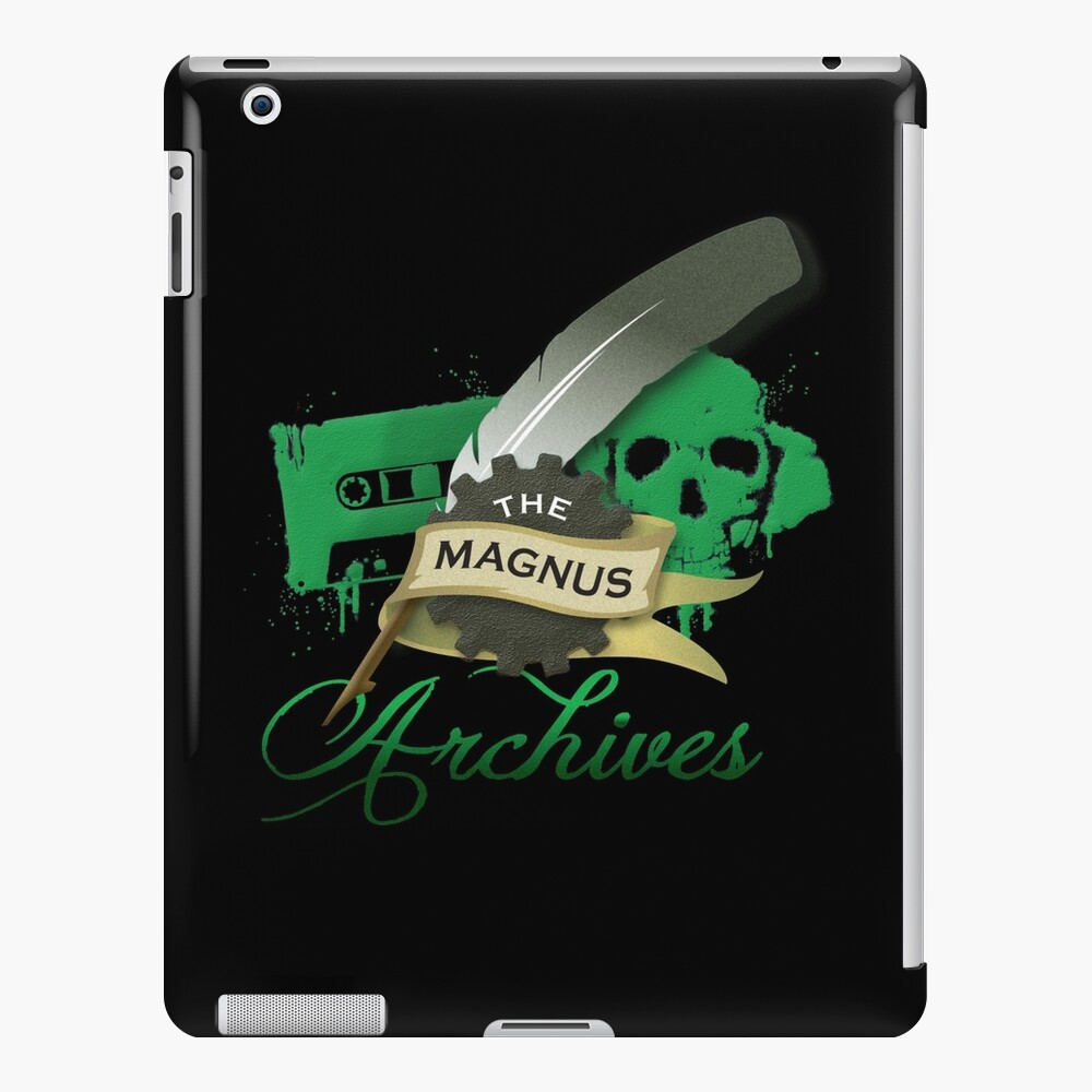 The Magnus Archives Logo iPad Case & Skin