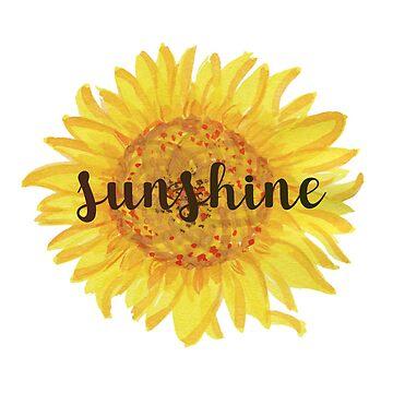 Sunshine Sunflower by fennywho