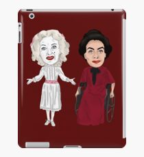 Whatever Happened to Baby Jane Inspired Bette Davis Joan Crawford Illustration iPad Case/Skin