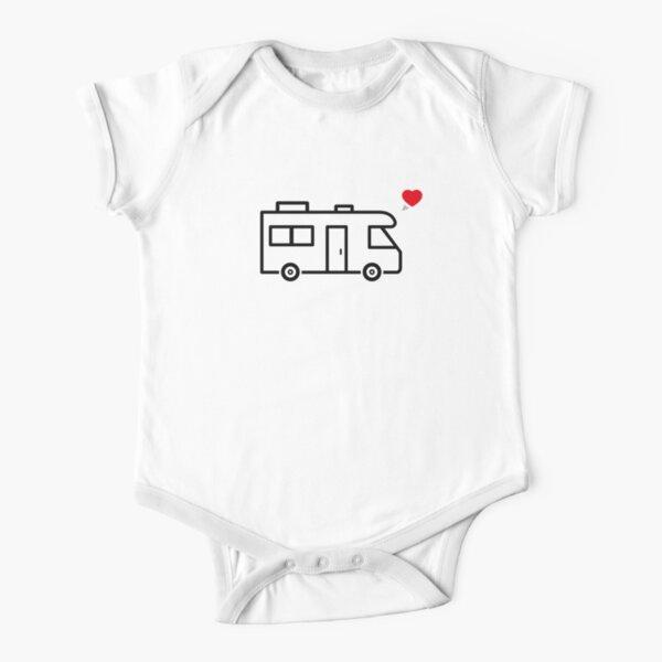 Camper/RV Love Short Sleeve Baby One-Piece