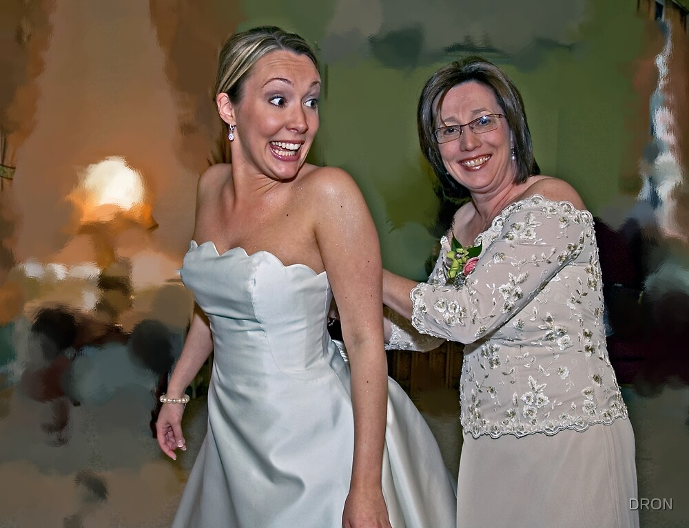 THE BRIDE AND HER MOM by DRON