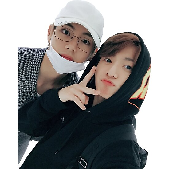 Quot Taekook Vkook Selca 171008 Quot Photographic Print By