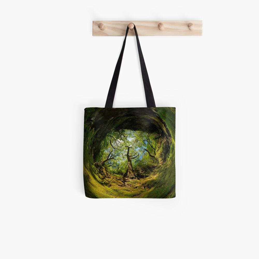 Ness Glen, Mystical Irish Wood Tote Bag