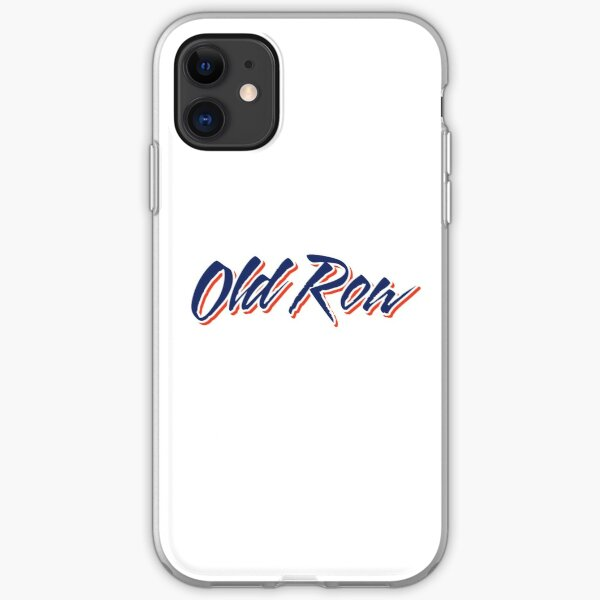 Old row  iPhone Soft Case