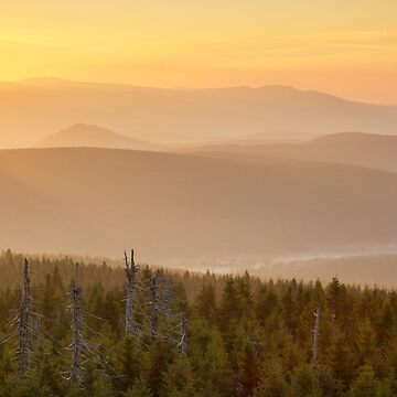 Mountain Sunrise by domcia