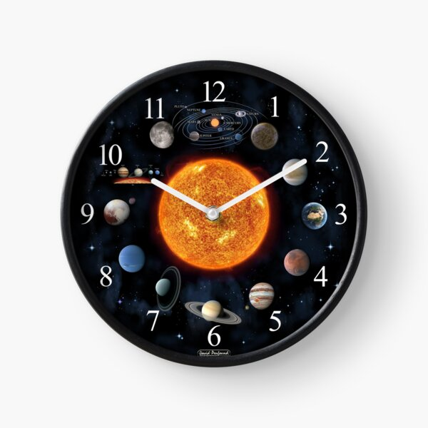 Celestial Planisphere Clock
