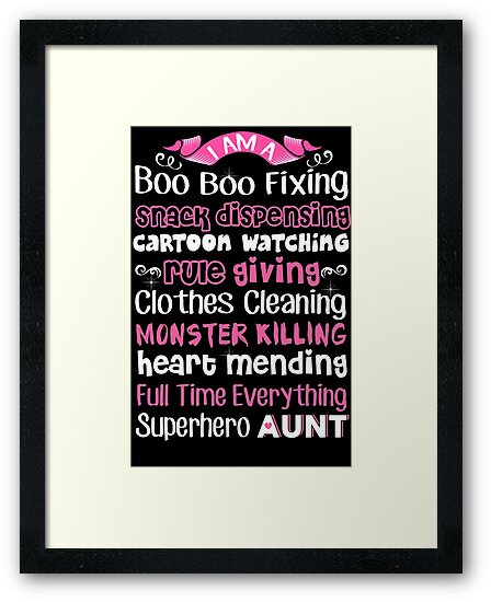 SUPERHERO AUNT by antipatic