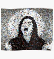 Scream MJJ Mosaic Poster