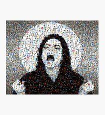 Scream MJJ Mosaic Photographic Print