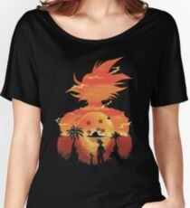 Dragonball sunset Women's Relaxed Fit T-Shirt