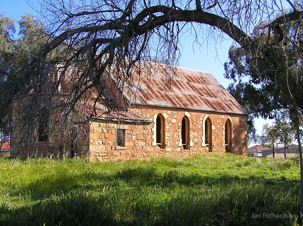 Ruined Church at Gooloogong, NSW by Jan Richardson