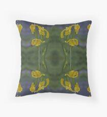 Yellow Flag Iris - Donegal Floor Pillow