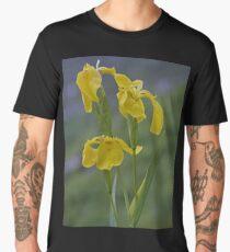 Yellow Flag Iris - Donegal Men's Premium T-Shirt
