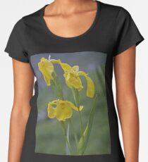 Yellow Flag Iris - Donegal Women's Premium T-Shirt