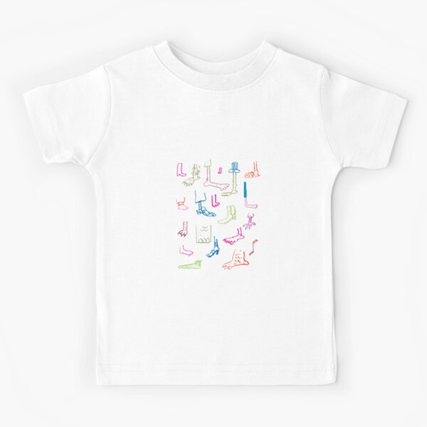 Feet Kids T-Shirt