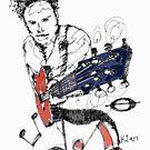 Red Rock Guitar by kjadesign