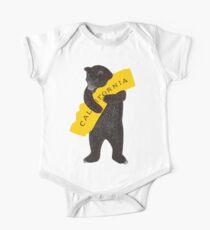 California Short Sleeve Baby One-Piece