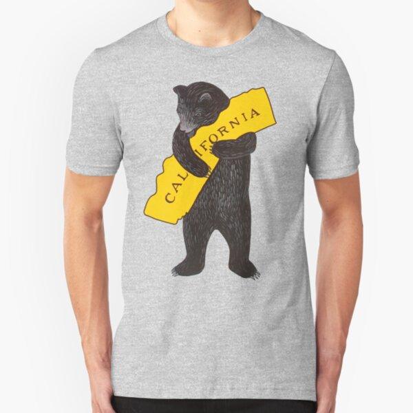 California — I Love You Slim Fit T-Shirt