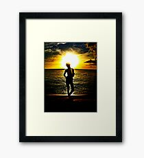 Mullet Bay Framed Print