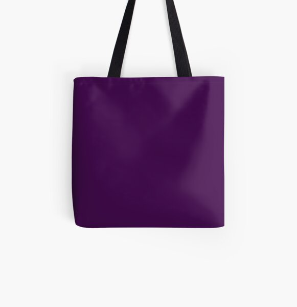 Dark Plum  All Over Print Tote Bag