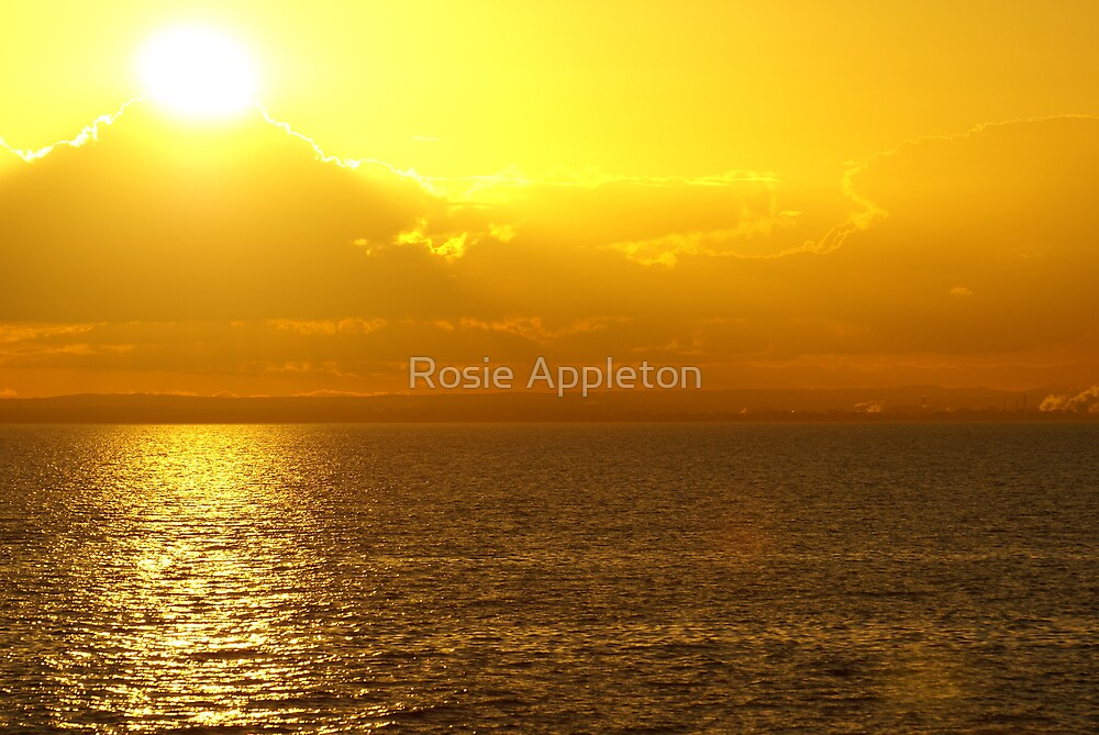 Yellow Sunset by Rosie Appleton