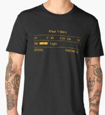 """Fallout New Vegas """"Black T-Shirt"""" Stats Men's Premium T-Shirt"""