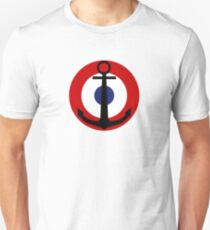 Roundel of the French Naval Aviation  Unisex T-Shirt