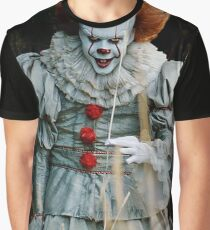 Pennywise from IT Graphic T-Shirt