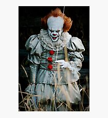 Pennywise from IT Photographic Print