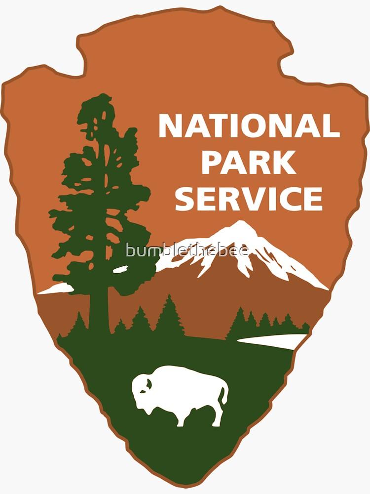 Nationalpark-Service-Logo von bumblethebee