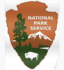 national park service logo Poster