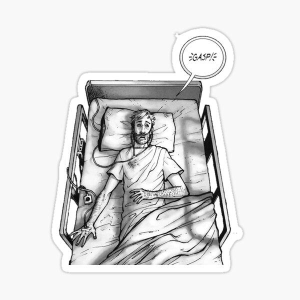 Rick Grimes - Coma Sticker