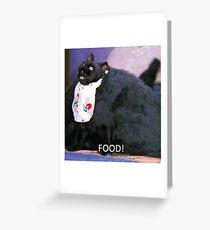 Fooooood Greeting Card