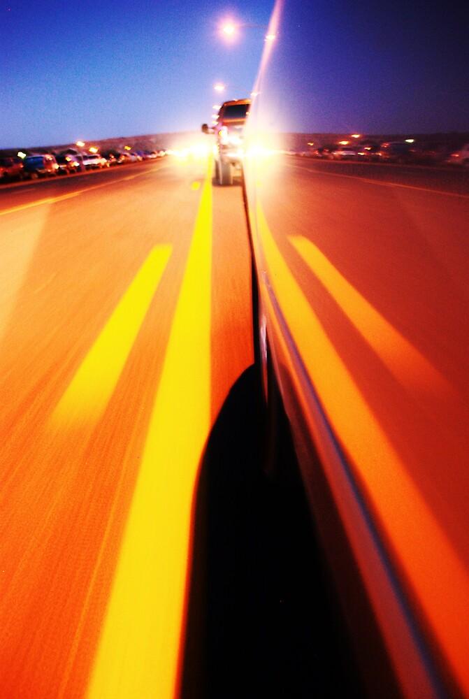 my road.. by Jenson Yazzie