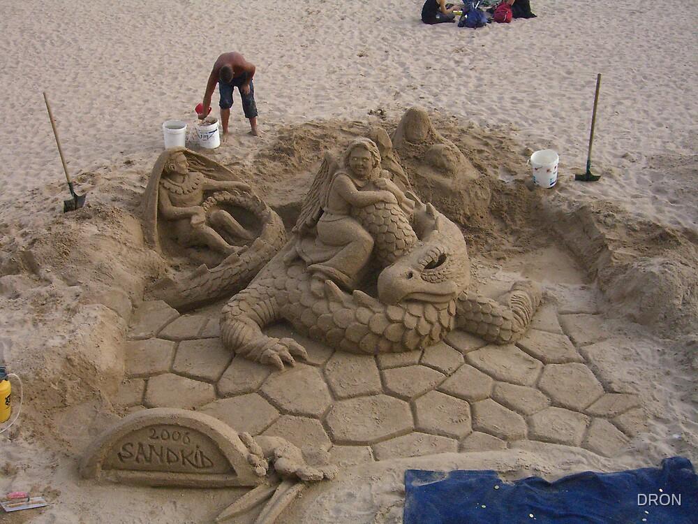 BEACH ART by DRON