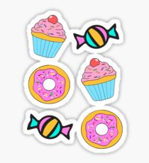 Donuts and Muffins Sticker